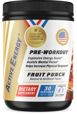 Active Energy Fruit Punch - Train Harder, Faster