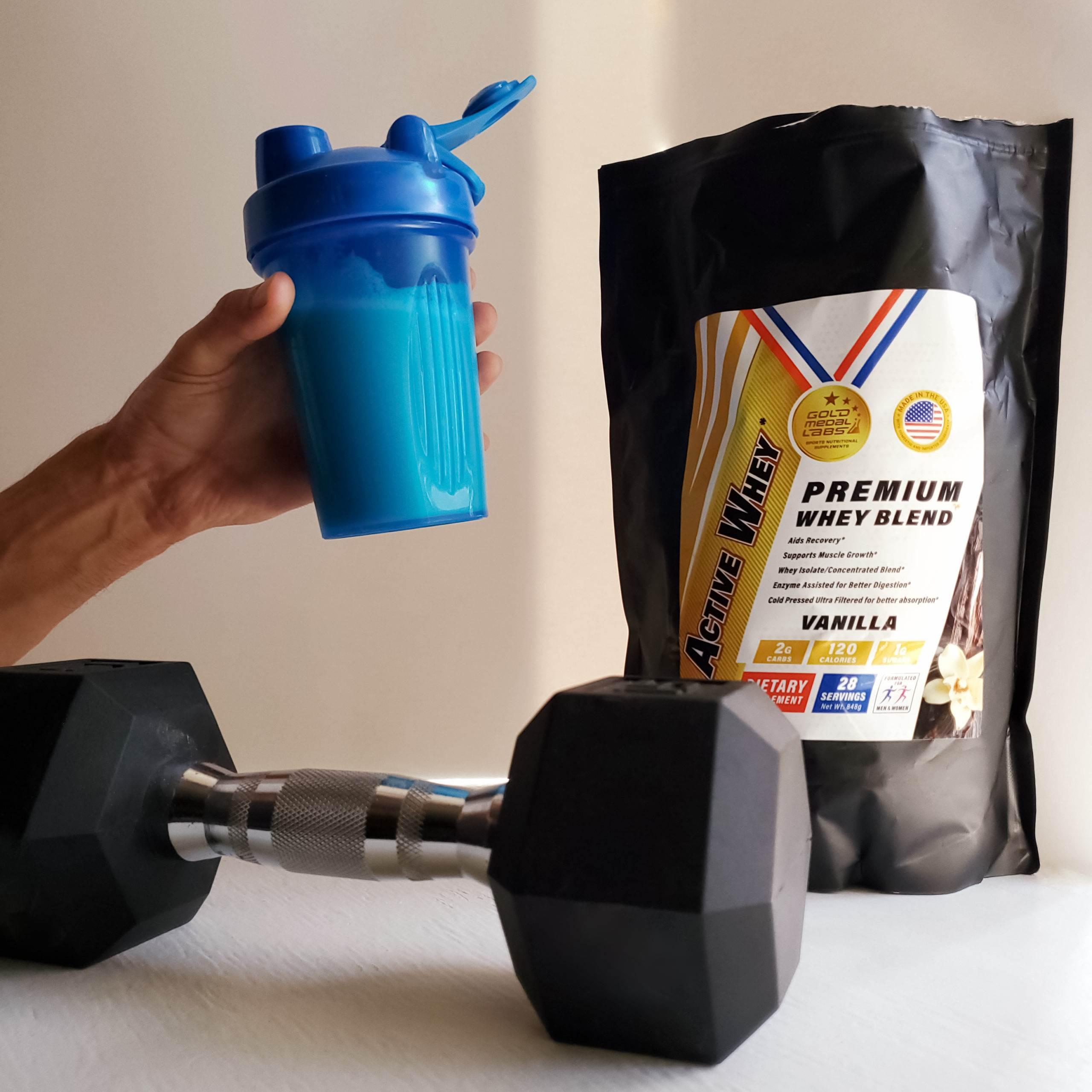 Photo of Active Whey Protein Vanilla Shake